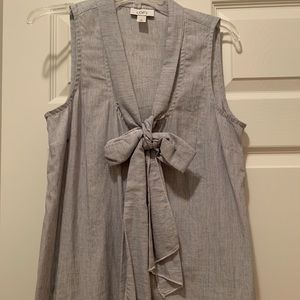 Long Top With Tie (fits big)